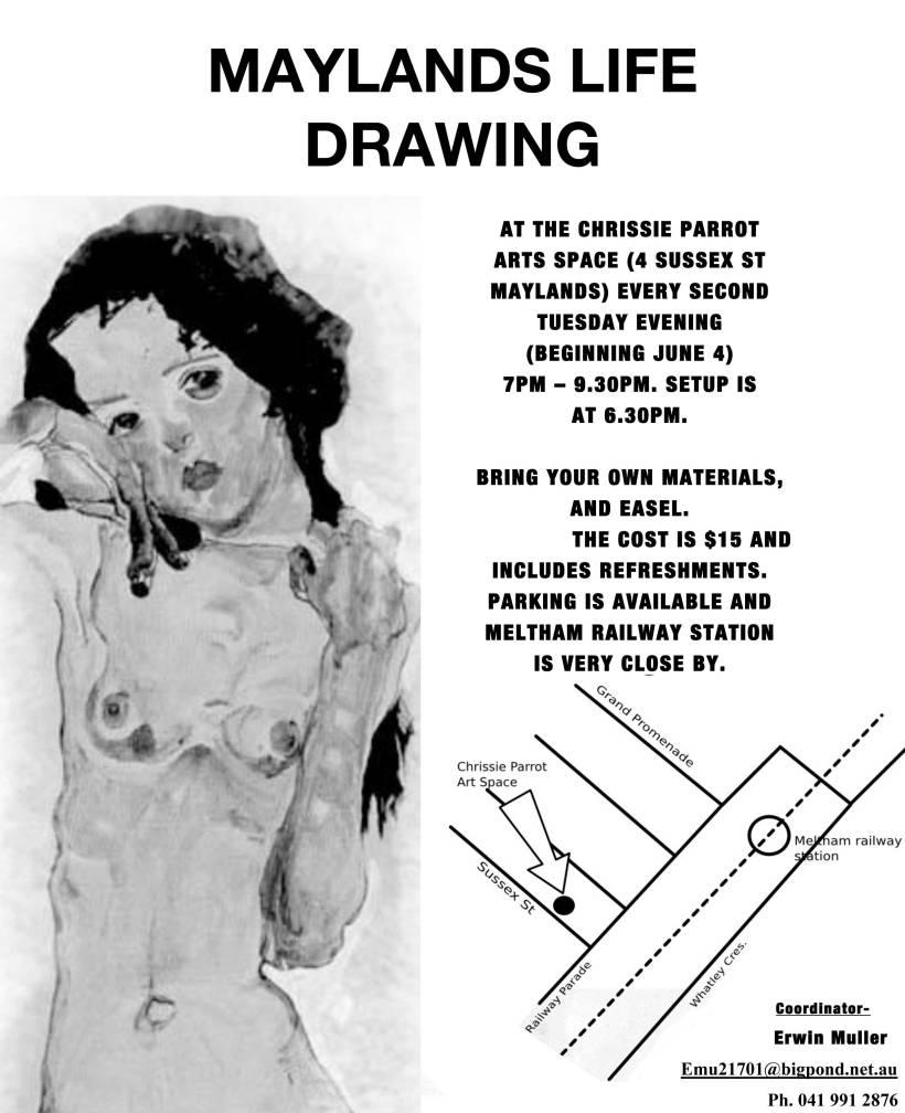 Maylands-Life-Drawing